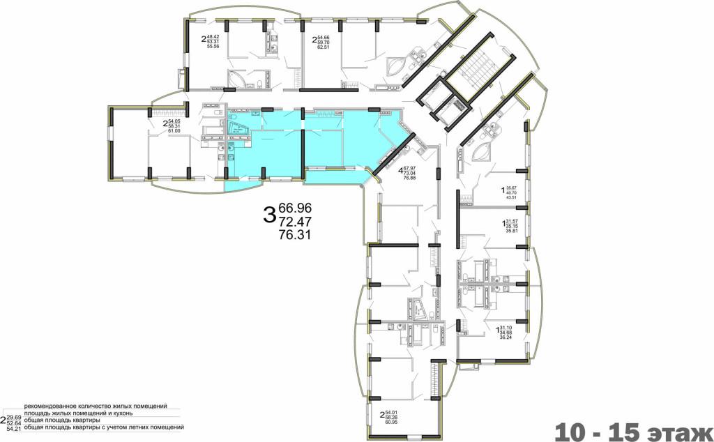 76_31 _10-15 этаж